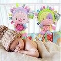 Anel Chocalho do bebê Sino Brinquedo Do Bebê Elefante De Pelúcia Macia Cama Berço Pendurado Mordedor Animais Recém-nascidos Infantil Precoce Educacional Dolls TO36