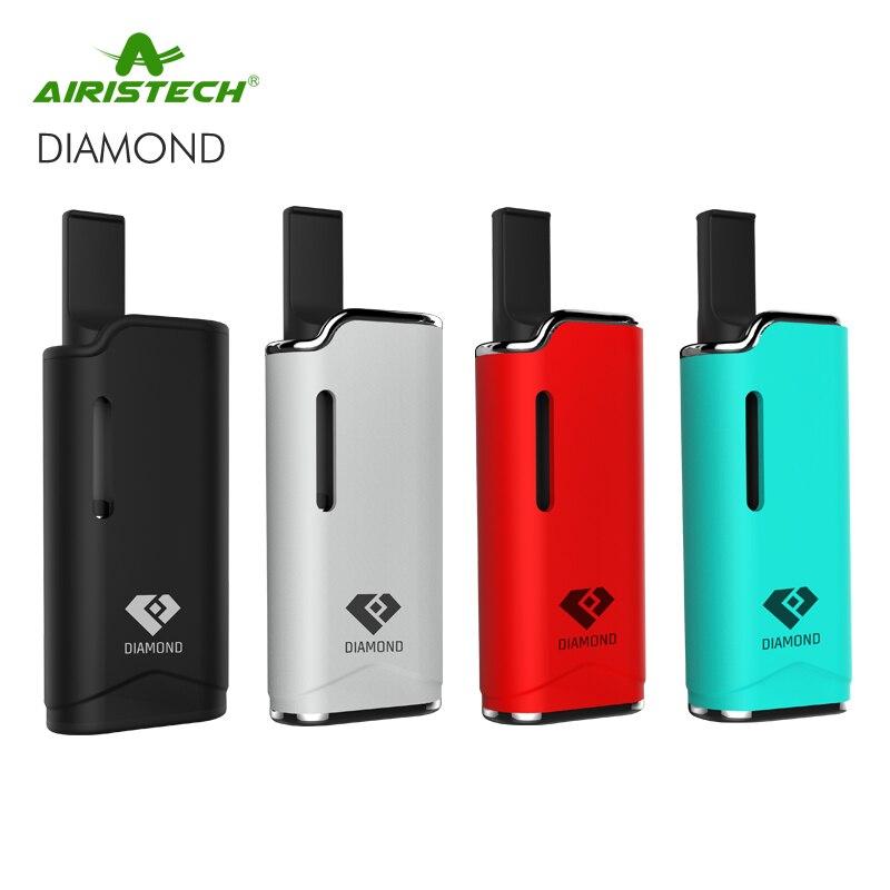 Airistech Diamante V11 Sigaretta Elettronica Viene Fornito G2 CBD Serbatoio Vaporizzatore Diamante 650 mAh Mini Batteria Mod Magnetica Auto Vape Kit