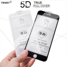 for iPhone 6 6s Plus Screen Protector Film Glass 5D Protective 7 8 X XR XS Max Tempered