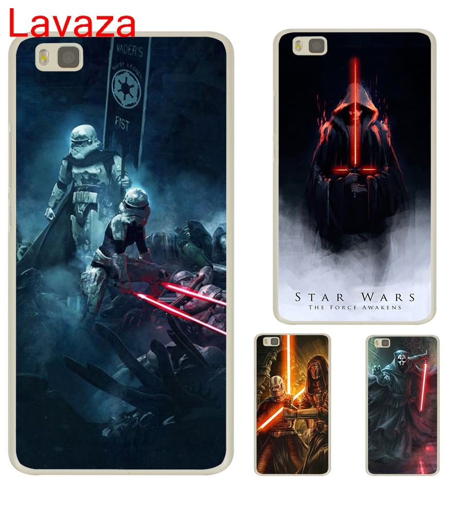 Lavaza Star Wars new lightsaber Hard Transparent Case Cover for Huawei P8 Lite 2015