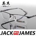 Praça caixa de armações de óculos de olho para homens e mulheres óculos de armação de óculos de prescrição moda mens óculos 32063
