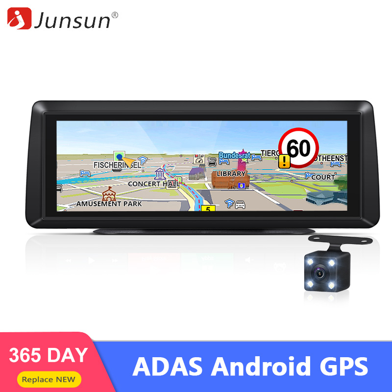 Junsun E94P 4G Android ADAS Car Gps Dashcam Camera 1080P Dual Lens Video Recorder Recorder