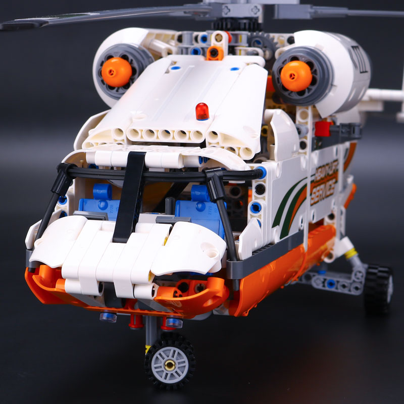 lepin 20002 Technology series mechanical group high load helicopter blocks Funny Gifts Compatible With 42052 Boy assembling toys city series helicopter surveillance building blocks policeman models toys children boy gifts compatible with legoeinglys 26017