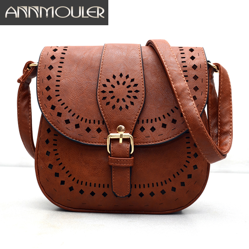2016 Small Casual Women Messenger Bags PU Hollow Out Crossbody Bags Ladies Shoulder Purse and Handbags Bolsas Feminina Vintage timer mj02 intelligent wearable nfc lord magic ring size 11