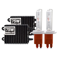 SKYJOYCE 75W High Power HID Ballast H7 HID Xenon Kit H1 H7 HB3 H11 D2H 4300K 6000K HID Headlight Bulb 75W HID Ballast Xenon Kit(China)