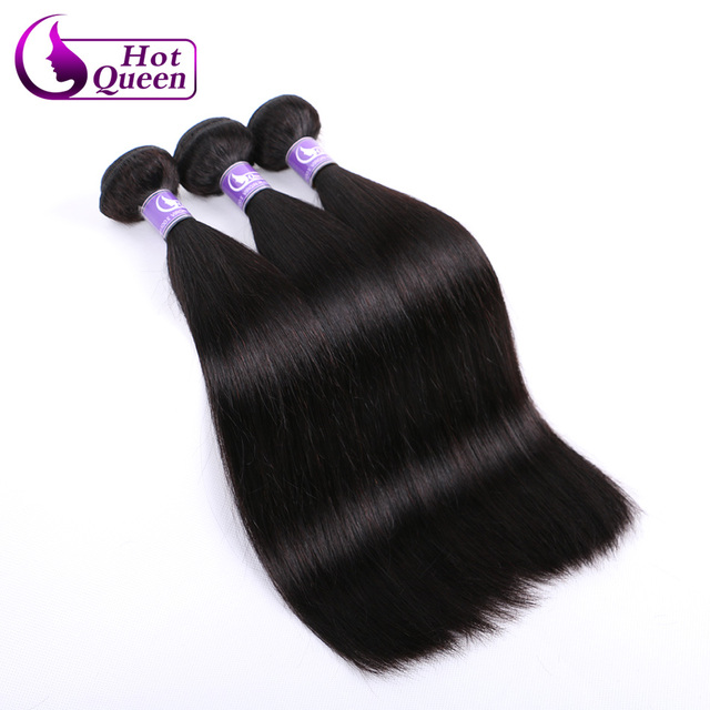 3 Bundles Malaysian Straight Human Hair Bundles Grade 8A Unprocessed Virgin Hair Weave Mink Malaysian Virgin Hair 100g/PC