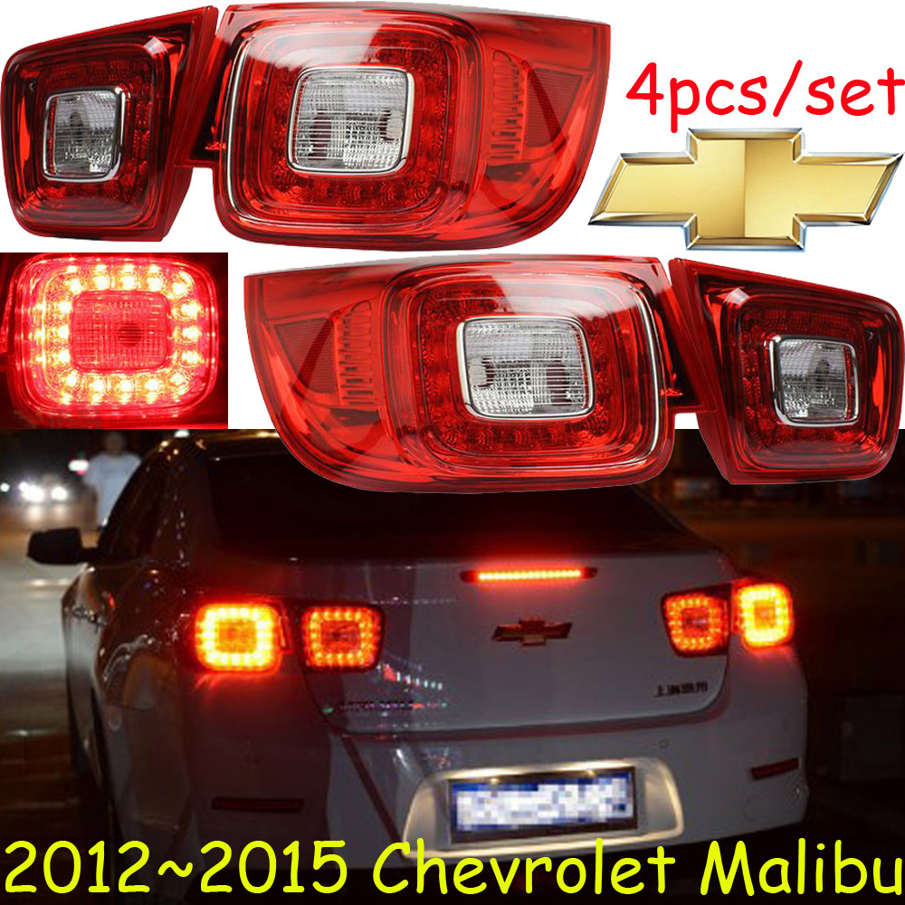 car bumper lamp for Chevrolet Malibu taillight 2012 2015y LED Malibu rear light Malibu fog light