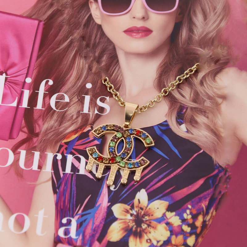 2019 New fashion Drop necklace For woman short necklace brand jewelry necklace Gift wholesale 2019 New fashion Drop necklace For woman short necklace brand jewelry necklace Gift wholesale