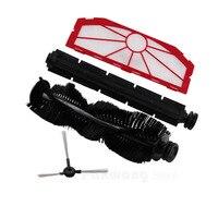 XR510 Robot Vacuum Cleaner Spare Parts Side Brush Rubber Brush Hair Brush Filter