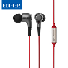Cheapest Edifier P230 In-ear Hifi Earphone Noise Cancelling Mobile Phone Earphones Stereo Bass Headset with Microphone for iphone xiaomi