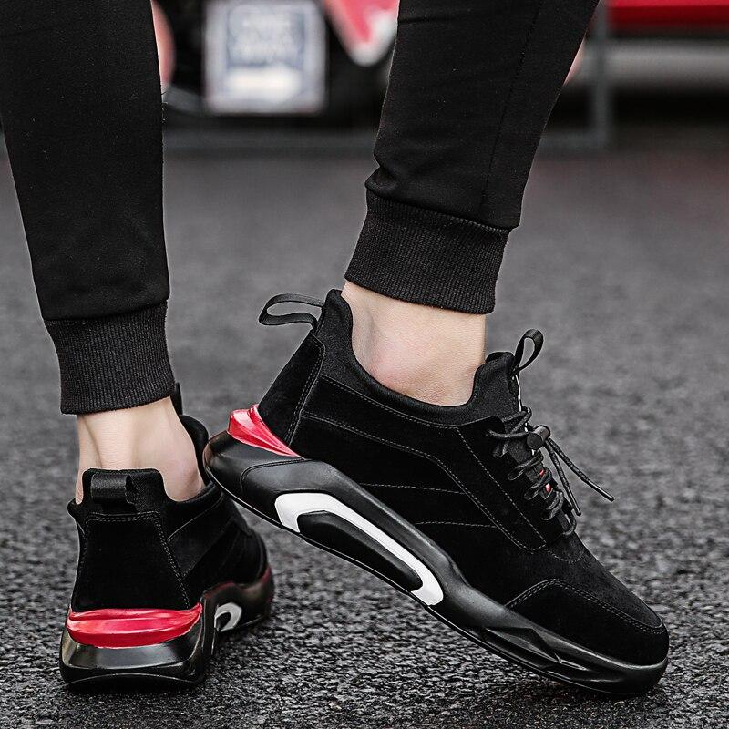2018 Spring/Autumn Men's Vulcanize Shoes Fashion Sneakers Men Casual Shoes Flats Men Shoes Chaussure Homme Designer Sneakers 3
