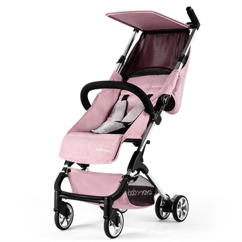 Luxury Foldable Baby Stroller KidsTravel Pocket Baby Carriage For Newborns yoya plus str ...