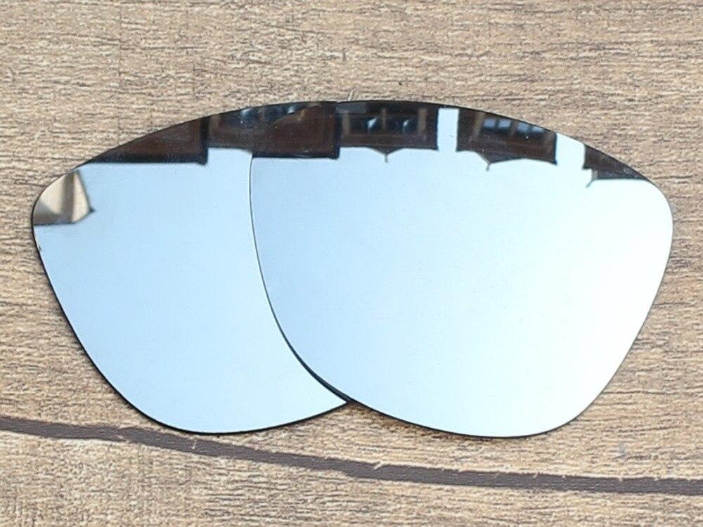 Cromo plata y verde 2 pares espejo polarizado Objetivos para FROGSKINS  Gafas de sol Marcos protección 100% UVA y UVB en Accesorios de Moda y  complementos de ... 1369bf3dde