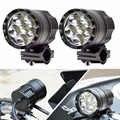 FADUIES, 1 пара мотоциклетных фар, 12 В, 60 Вт, U2 Светодиодный прожектор для мотоцикла, фары для мотоцикла, точечные фары для вождения, вспомогатель...