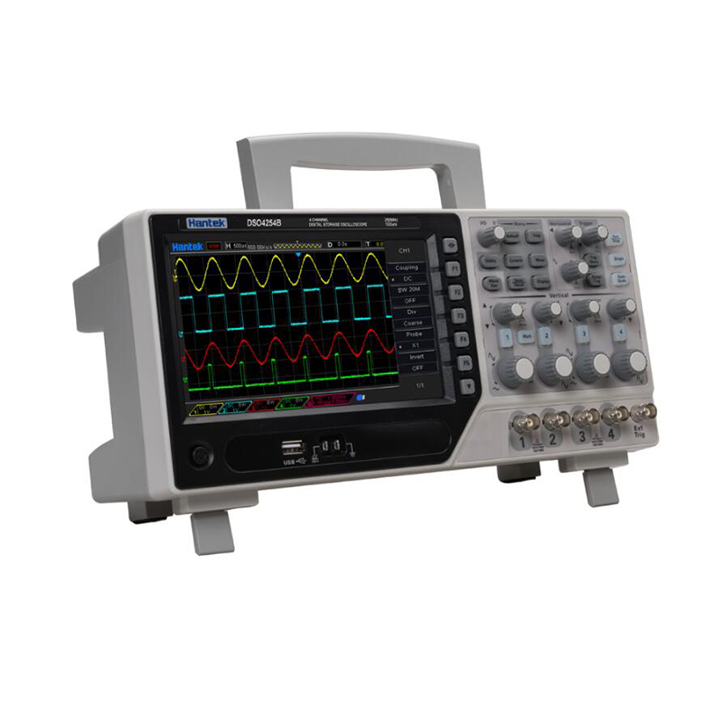 Hantek DSO4084B DSO4104B DSO4204B DSO4254B Digital Oscilloscopes 4CH 1GS/s Digital Storage Oscilloscopes +EXT +DVM+ Auto Range