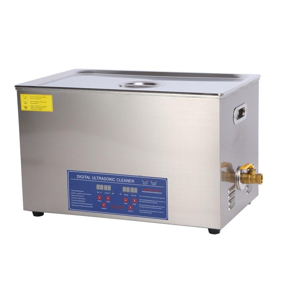 600 W 30L สแตนเลสดิจิตอล Ultra sonic Cleaner Bath Ultra sonic ทำความสะอาดเครื่องอุ่นท้องถิ่น Fast Shipping-ใน ตัวทำความสะอาดอัลตราโซนิก จาก เครื่องใช้ในบ้าน บน AliExpress - 11.11_สิบเอ็ด สิบเอ็ดวันคนโสด 1