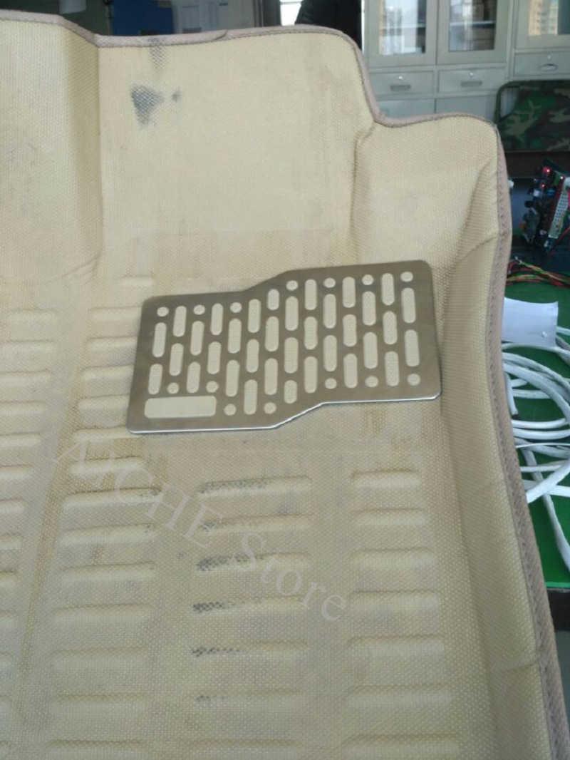 רכב אלומיניום דוושת משטח רצפת מחצלות אביזרי עבור Kia sorento אופטימה sportage נשמת פורטה ceed gt jd sw ריו נירו 2008-2018
