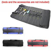 Multifunction Oxford Cloth Folding Wrench Bag Tool Roll Storage Pocket Tools Pouch Portable Case Organizer Holder bracelet