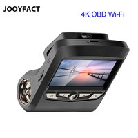 JOOYFACT A8 4K Ultra HD OBD Car Dash Cam DVR Recorder Registrator Camera 2160P 1080P Sony IMX307 96660 Night Vision HUD WiFi
