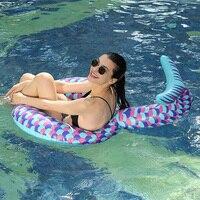 Giant Mermaid Tail Pool Float Funny Inflatable Vinyl Summer Pool or Beach Toy
