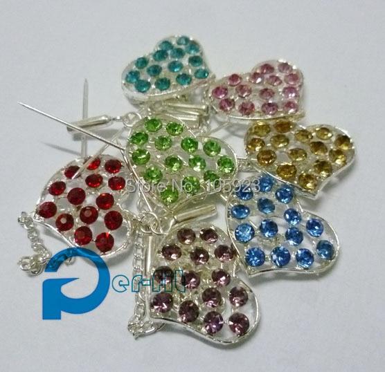 hijab pin diamante shiny scarf pins muslim jewelry khaleeji safety pins 12pcs/lot mix colors free ship