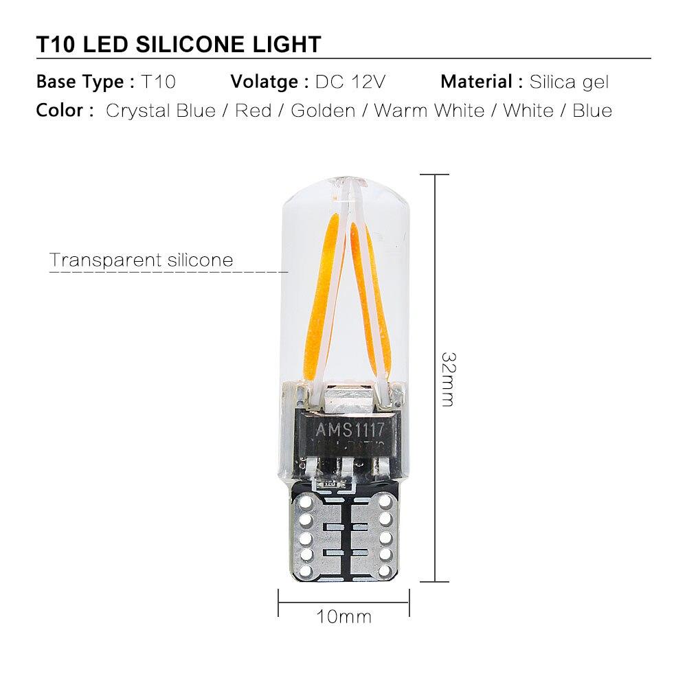 T10 2 COB LEDs