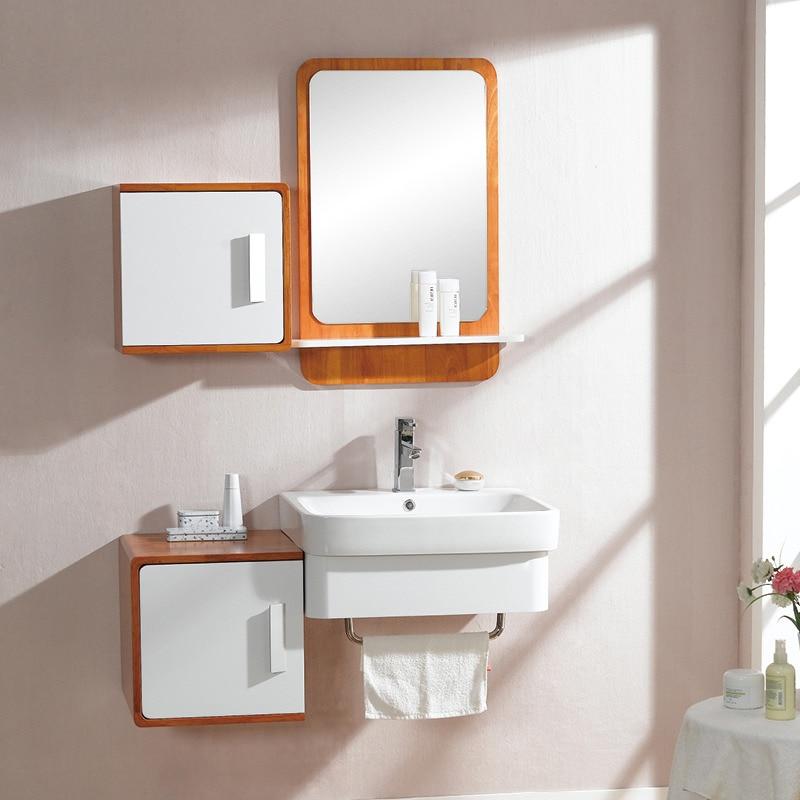 Modern Design Hanging Bathroom Cabinet Bathroom Vanity With Natural Wood Color 0283 100345
