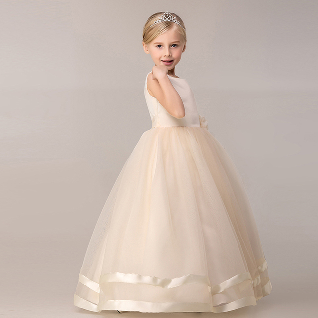 Baby Dresses For Girls Kids Evening Party Prom Gowns Designs ...