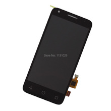 Original LCD Black DIsplay + Touch Screen Digitizer Assembly For Alcatel One Touch Pixi 3 4.5 4027D 4027X 4027A Free shipping