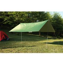 3mx3m Waterproof Sun Shelter Tarp Survival Camping Climbing Outdoor Tent Patio top Sun Shade Awning Canopy Garden tent Shade