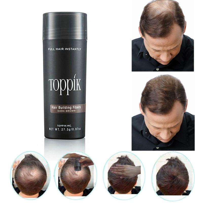27.5g Toppik Hair Fibers Keratin Thickening Spray Hair Building Fibers Loss Products Instant Wig Regrowth Powder Beauty Salon