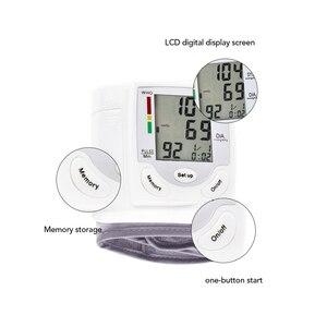 Image 2 - Oliecoデジタル正確な手首血圧モニターポータブル電気液晶パルスレートメーター血圧計ビートpr