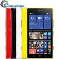 Original nokia lumia 1520 ventanas teléfono celular 32 gb quad core 2.2 ghz 2 gb ram 20mp nfc gps wifi 3g smartphone