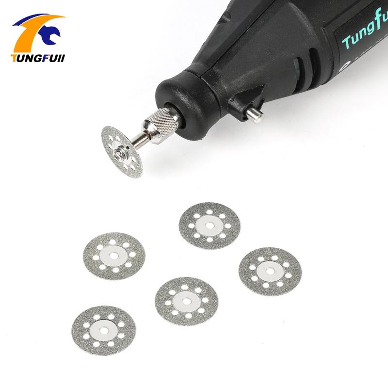 Accessori per utensili Tungfull Dremel Disco diamantato per seghe - Utensili abrasivi - Fotografia 6