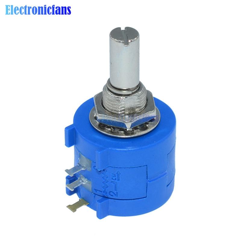 цена на 3590S-2-103L 3590S 10K ohm Precision Multiturn Potentiometer 10 Ring Adjustable Resistor