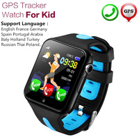 GPS Tracker Smart Watch Kids Watch with Camera Call Location Device Tracker for Kid Safe Anti Lost Monitor GSM GPRS Real Time