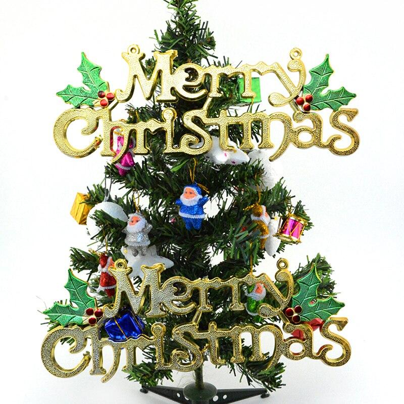 1 unid Nuevo Feliz Navidad Decoración Del Partido Del Festival Árbol de navidad