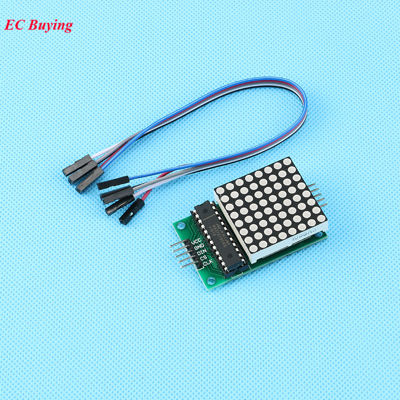 MAX7219 8*8 Dot Matrix Display Module MCU LED Microcontroller Dot Matrix Board For Arduino Electronic Diode PCB