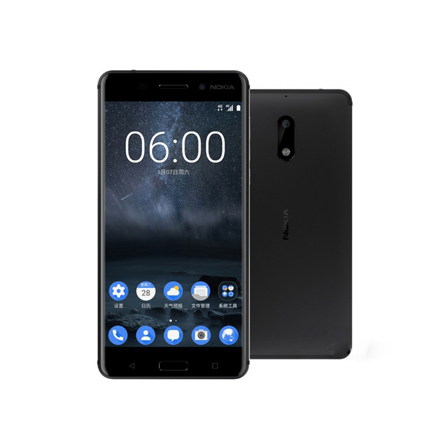 Nokia 6 Ta-1000 5.5inch screen Android7.0 4GB RAM 64GB ROM Dual SIM 16.0MP Fingerprint 3G/4G network