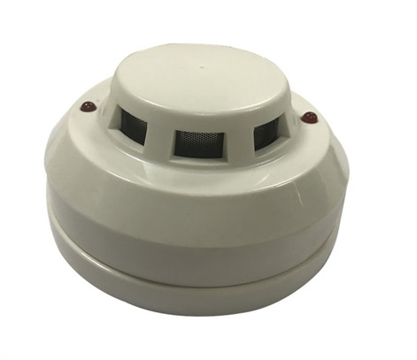Conventional Best Wired Smoke Alarm Photoelectric Sensor Smoke Alarm Detectors Digital Smoke Alarm