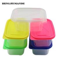 20PCS 709ML Food Grade PET Material Melaleuca Cake Box Packing Box Disposable Lunch Box Fruit Plastic