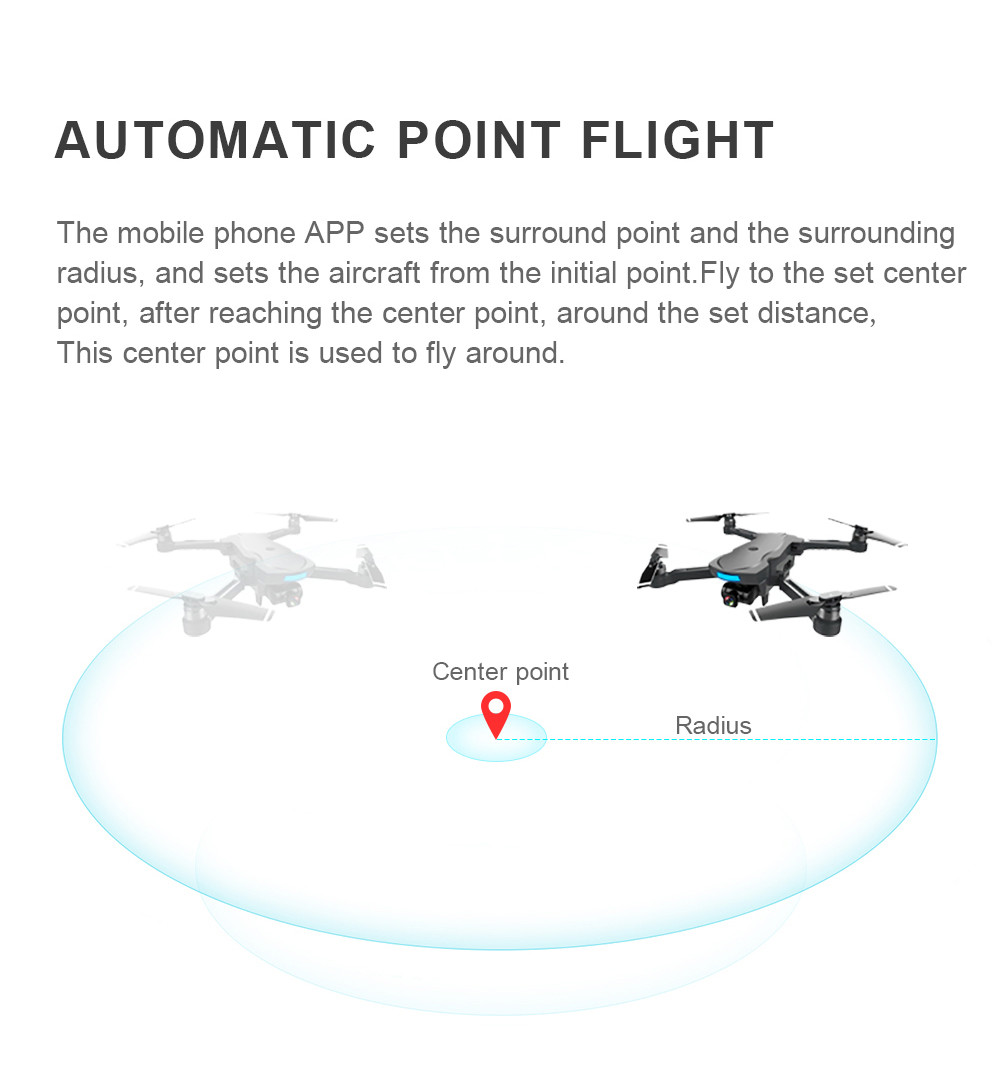 18 GPS tracking surround folding Drone 1000M Mins Brushless gesture aerial shot 1080P HD Camera WiFi FPV RC Quadcopter 21