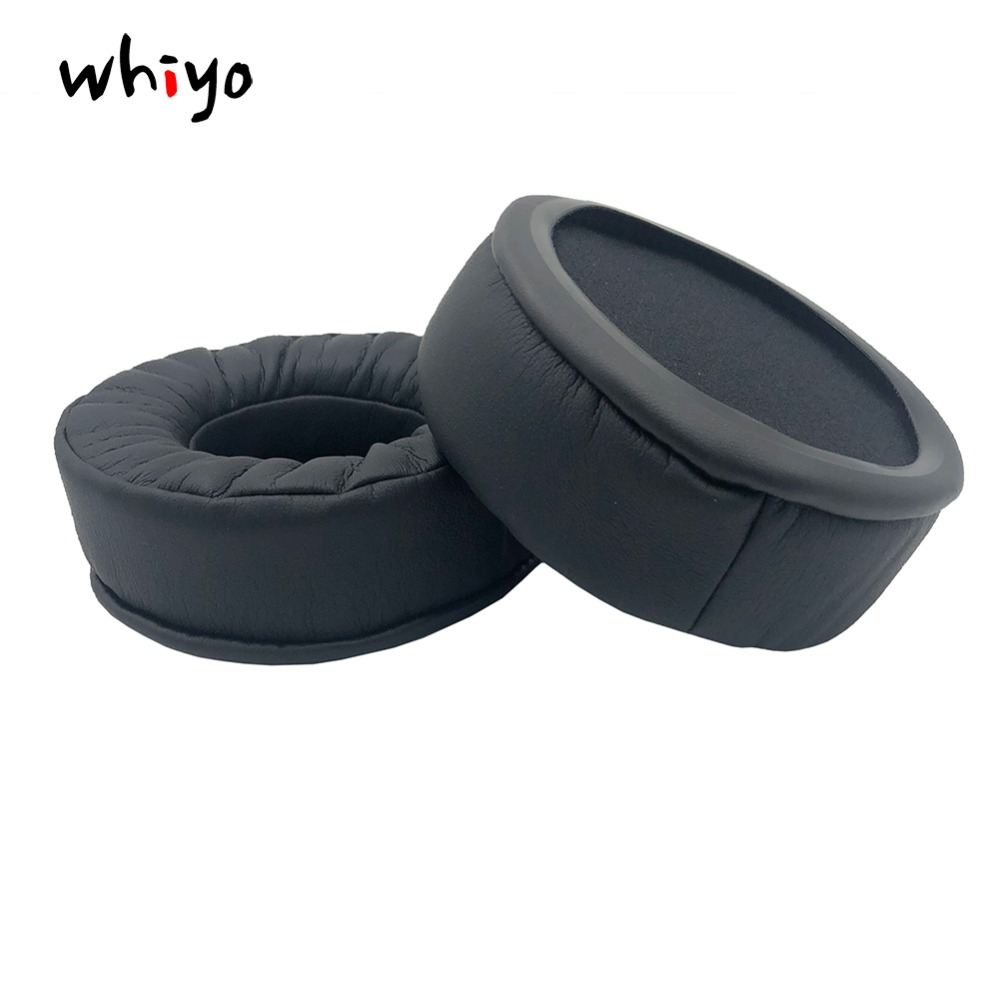 1 pair of Velvet Leather Memory Foam Earpads Replacement Ear Pads Spnge for Superlux HD662 HD662B HD662F <font><b>HD660</b></font> Headphones Sleeve image