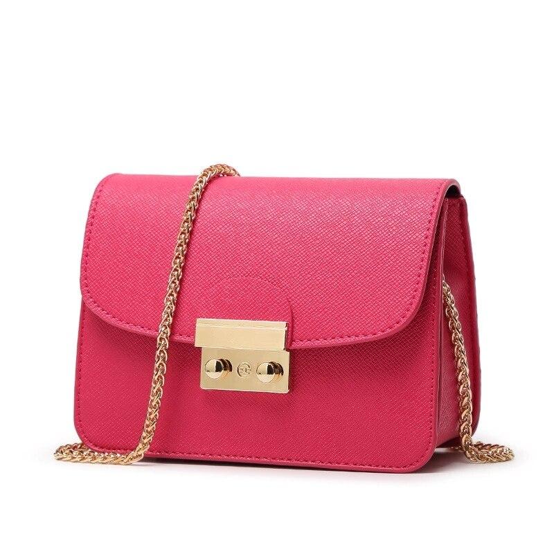 Arsmundi New Women Chain Solid Bag Designer Brand Purses And Handbag Fashion Women's Clutch Summer Shoulder Bags for Women 2018