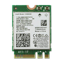 Wireless Adapter Karte für Intel AC 3168NGW 3168 Dual Band Wireless wifi Bluetooth 4,2 M2 Karte lenovo thinkpad 01ax706