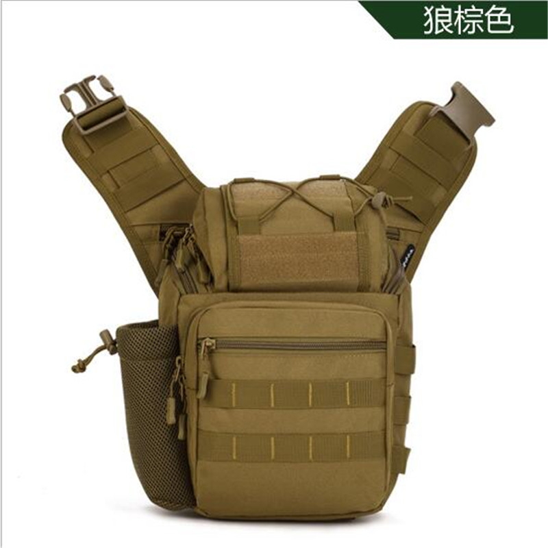 Sacs de selle sac appareil photo reflex à l'extérieur BaoHu sac à dos à une épaule paquet de poitrine incliné sac de voyage sac polyvalent