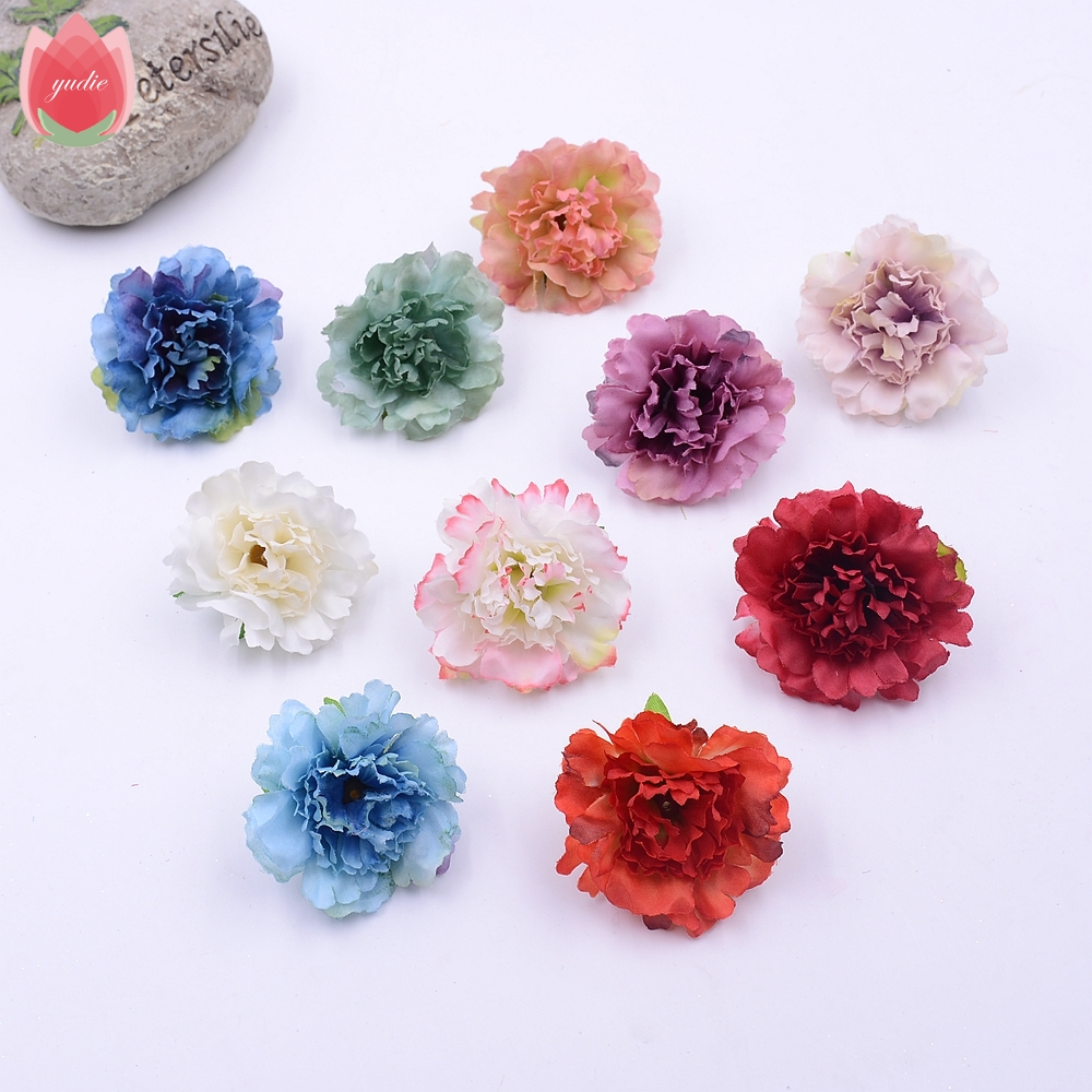 Wholesale 100pcs Silk Artificial Peony Flower For Wedding Party