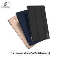 DUX DUCIS Skin Pro Series Tri Fold Stand Leather Case For Huawei MediaPad M3 8 4