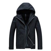 Woodvoice ジャケットメンズ新カジュアル固体付きジャケット男性ファッションジッパー生き抜くスリムフィット春秋の服高品質