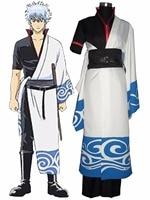 Gintama Sakata Gintoki Cosplay Costume Tailor Made